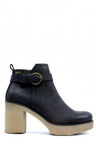 Mtng Tronchetti F.gomma 36-40 Donna Nero Fashion