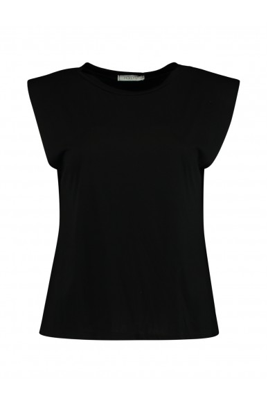 Hailys Top Donna Nero Casual