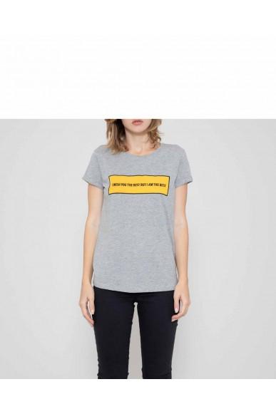 Silvian each T-shirt   T-shirt fredericksburg(kit ass) Donna Grigio