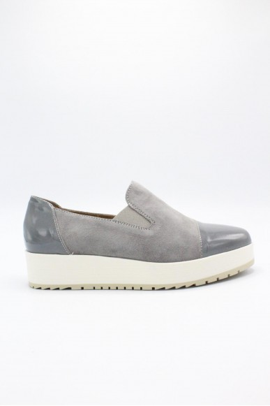 Carmens Slip-on F.gomma 36/40 made in italy Donna Fumo Fashion