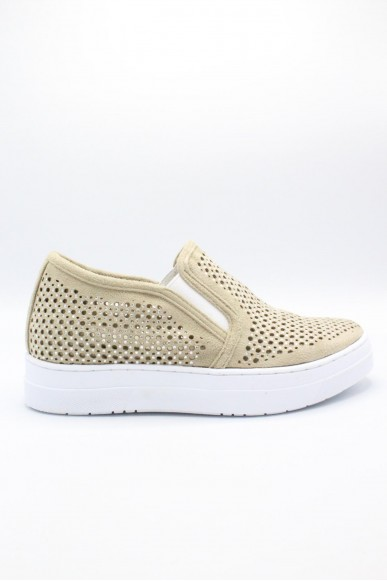 Mercante dei fiori Slip-on F.gomma 35/41 Donna Beige Fashion