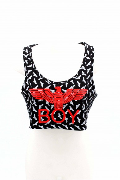 Boy london Top Donna Nero Casual