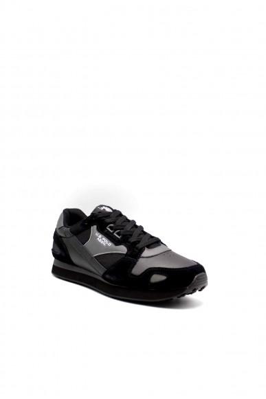 Us polo Sneakers F.gomma Justin1 Uomo Nero Fashion