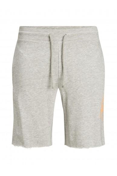 Jackejones Bermuda   Jjijackson sweat shorts at Uomo Grigio Casual