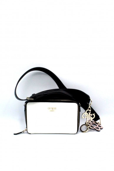 Guess Pochette - Dania mini crossbody top ziphwvg69 57700 Donna Bianco Fashion