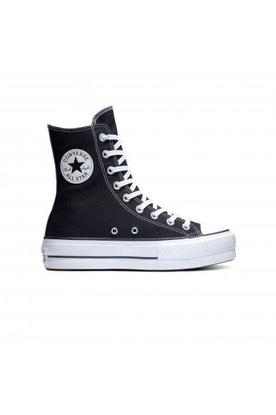 Converse Sneakers F.gomma Ctas lift x-hi Donna Nero Fashion