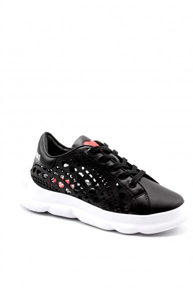 Moschino Sneakers F.gomma Sneakerd.camp40 vitello nero Donna Nero Fashion