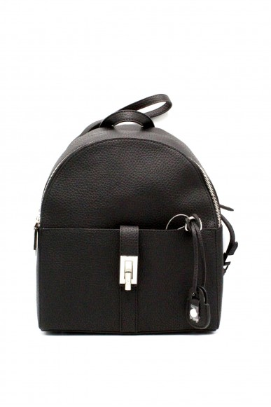 Trussardi Backpacks - Suzanne ecoleather smooth backpack Donna Nero Fashion