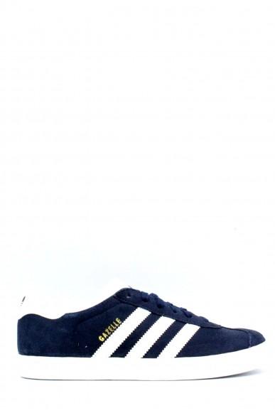 Adidas Sneakers F.gomma 35/39 gazzelle j Bambino Blu-bianco Sportivo