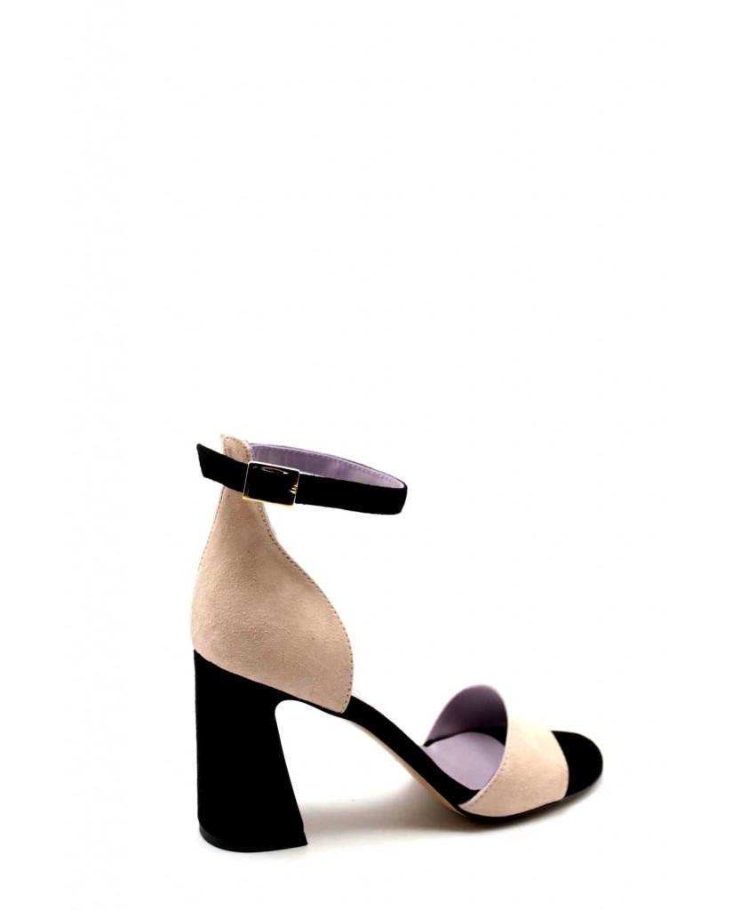Brando Sandali F.gomma 35/41 stell 1 Donna Rosa Fashion