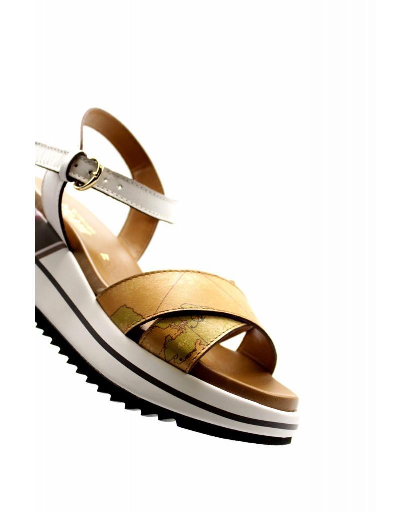1^classe  Sandali F.gomma Ze907 Donna Bianco Fashion