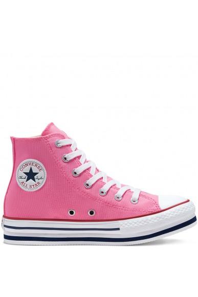 Converse Sneakers F.gomma Chuck taylor all star platform eva Bambino Rosa Fashion