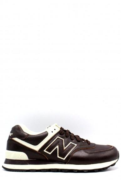 New balance Sneakers F.gomma 39-46 ml 574 Uomo Marrone Sportivo