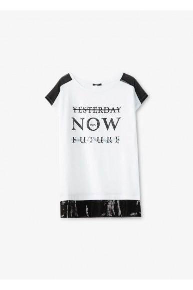 Liu.jo T-shirt Donna Bianco Casual