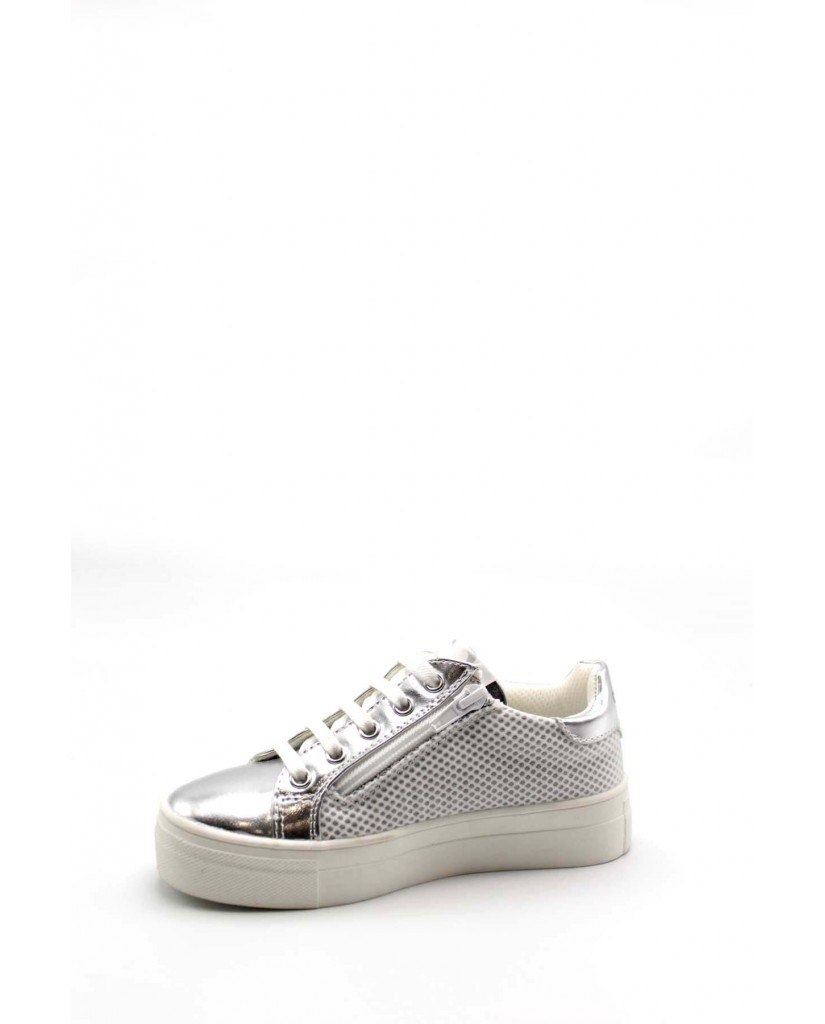 Cafe' noir Sneakers F.gomma 30/37 c-505 Bambino Argento Fashion