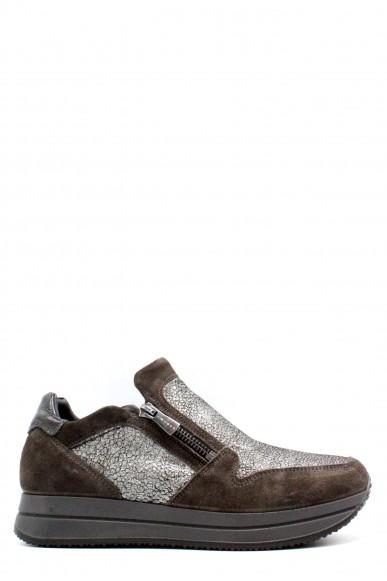 Igieco Sneakers F.gomma 35/41 made in italy Donna Grigio Classico