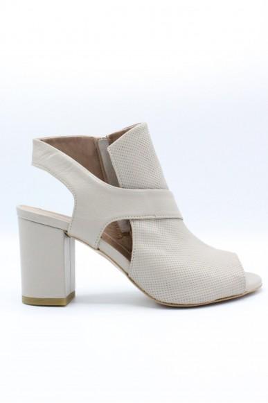 Mally Sandali F.gomma 36/40 Donna Grigio Fashion