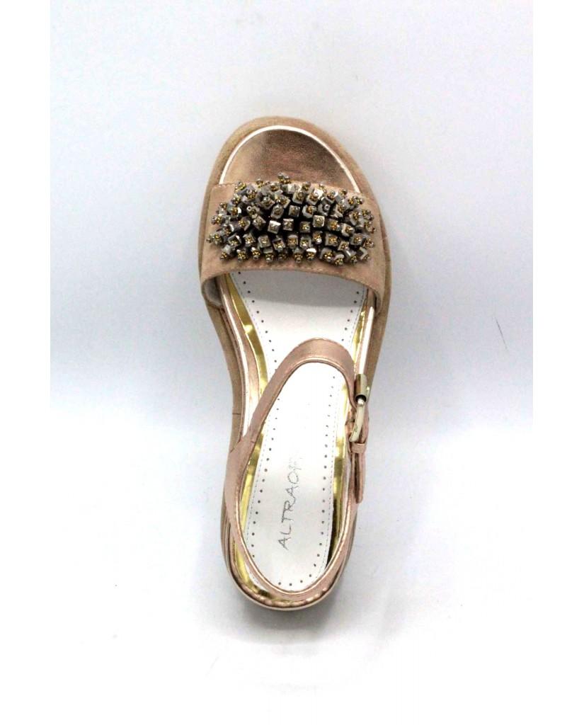 Altra officina Sandali F.gomma 36/41 q1301 made in italy Donna Nudo Fashion