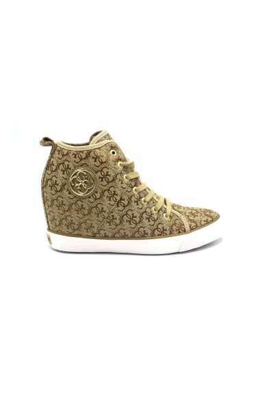 Guess Sneakers F.gomma 35/41 Donna Beige-bronzo Fashion