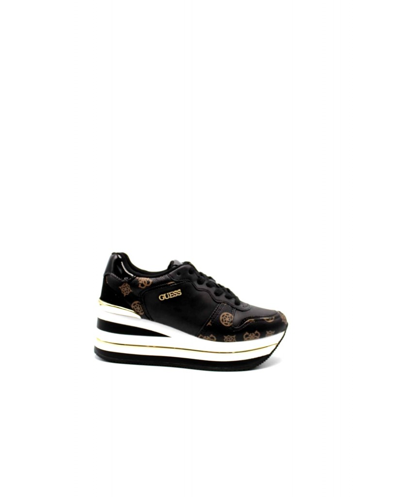Guess Sneakers F.gomma Hektore/active lady/leather li Donna Nero Fashion