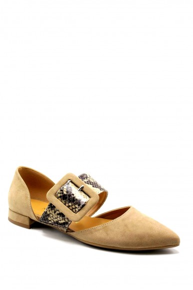 Nacree Ballerine F.gomma 35/41 521t108 Donna Camel Fashion