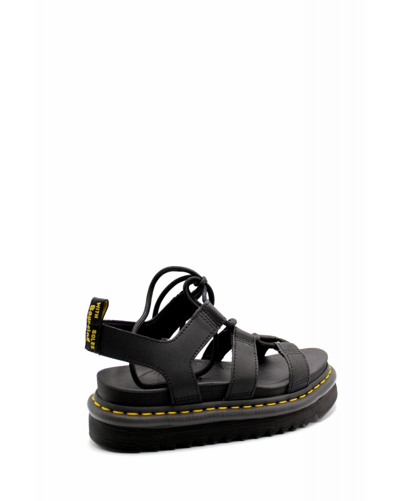 Dr. martens Sandali F.gomma Nartilla sandal Donna Nero Fashion
