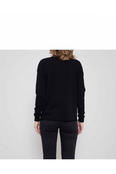 Silvian each Felpe   Sweatshirt nanticoke(kit ass) Donna Nero