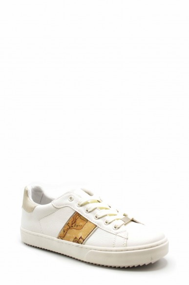 1^classe  Sneakers F.gomma N0192 Donna Bianco Fashion