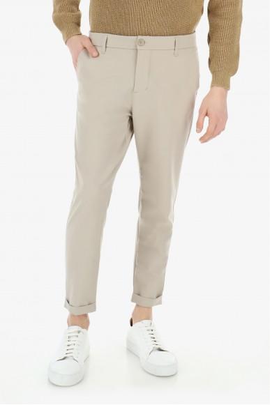 Imperial Pantaloni Uomo Beige Casual