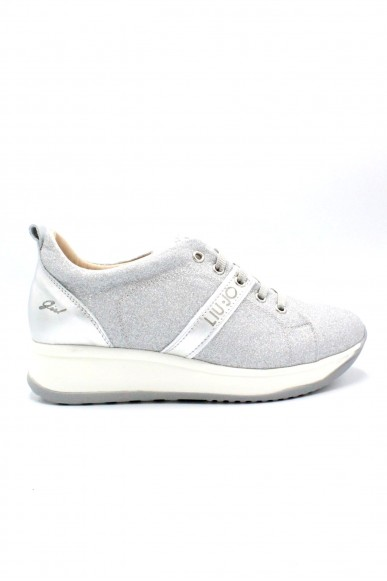 Liu.jo Sneakers F.gomma 35/40 Donna Argento Fashion