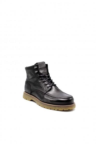 Jackejones Stivaletti F.gomma Jfwlucas moc black Uomo Nero Fashion