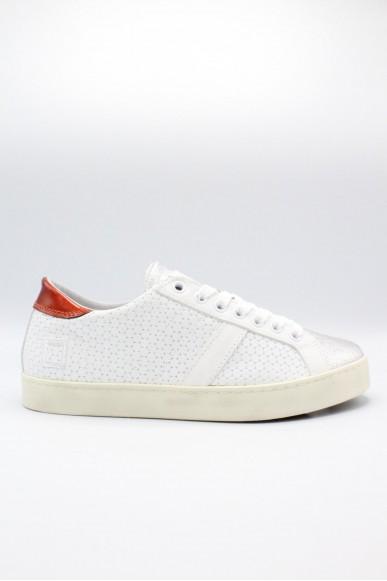 D.a.t.e.. Sneakers F.gomma 36-41 Donna White Casual