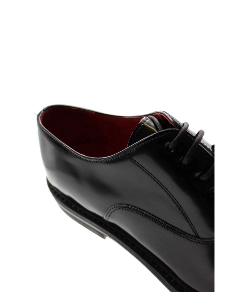 Brecos Stringate 9157 Uomo Nero Elegant
