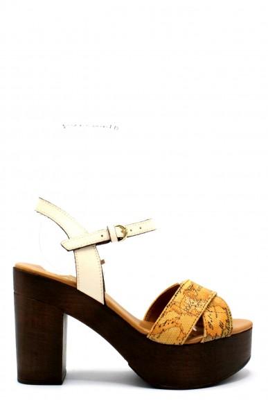 1^classe  Sandali F.gomma 35/41 e684/422a Donna Conchiglia Fashion