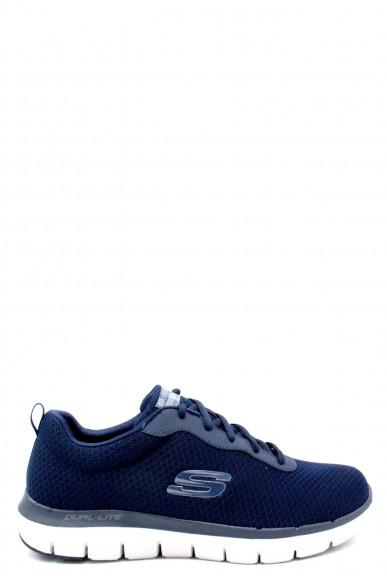 Skechers Sneakers F.gomma 39/46 Uomo Blu Sportivo