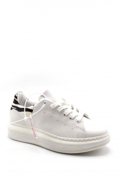 Vitamina Sneakers F.gomma Greta Donna Bianco Fashion