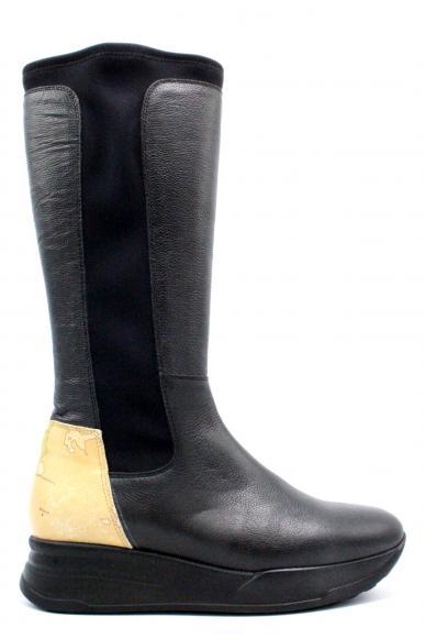 1^classe  Stivali F.gomma 36-40 Donna Nero Fashion