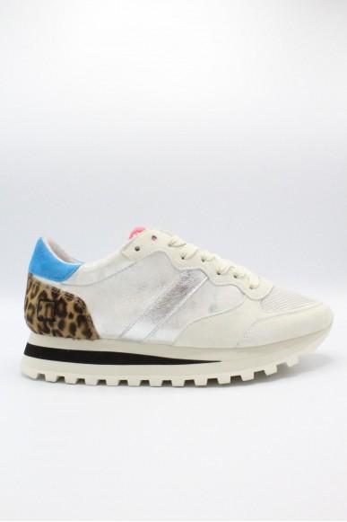 D.a.t.e.. Sneakers F.gomma 36-41 Donna Poni silver Casual
