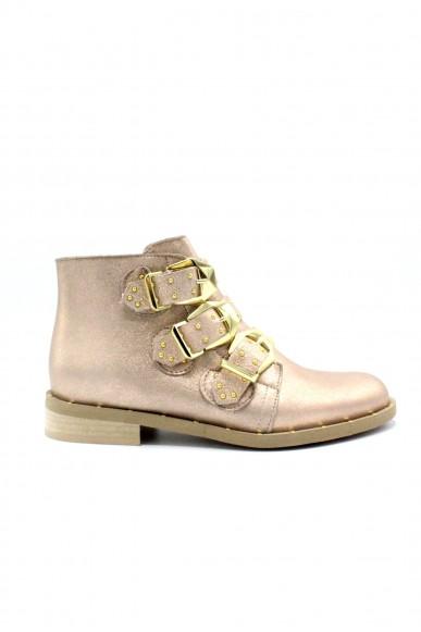 Nicole Tronchetti F.gomma 36/40 ankle boot made in italy Donna Bronzo Fashion