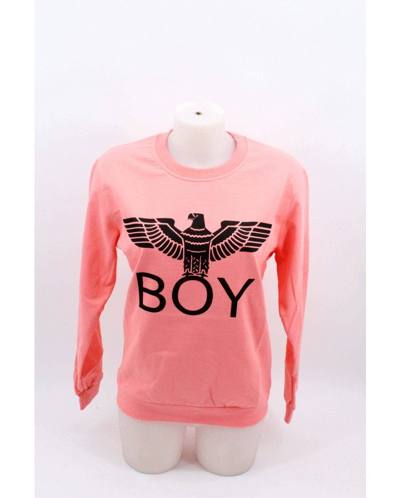 Boy london Felpe Donna Salmone Casual