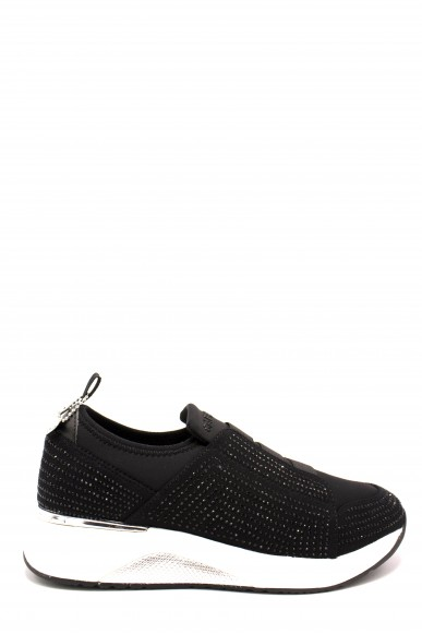 Cafe' noir Slip-on F.gomma 35/41 da913 Donna Nero Fashion