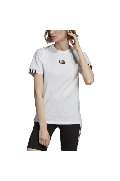 Adidas T-shirt   Vocal t shirt Donna Bianco Streetwear