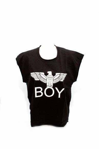 Boy london Maglie Donna Nero Casual