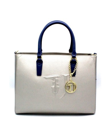 Trussardi Borse Shopping bag media Donna Grigio Fashion