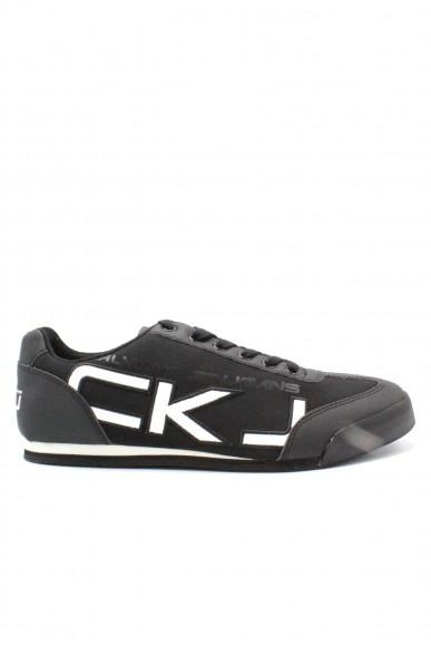 Calvin klein Sneakers F.gomma 39/46 cale Uomo Nero-bianco Fashion