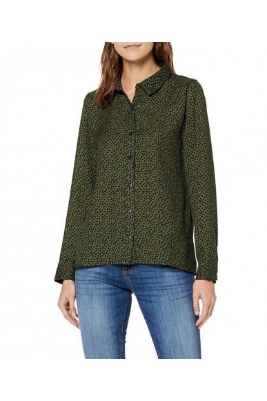 Compagnia fantastica Camicie   Estampado Donna Verde Fashion