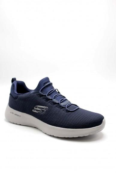 Skechers Sneakers F.gomma 40-45 58360 Uomo Blu Casual