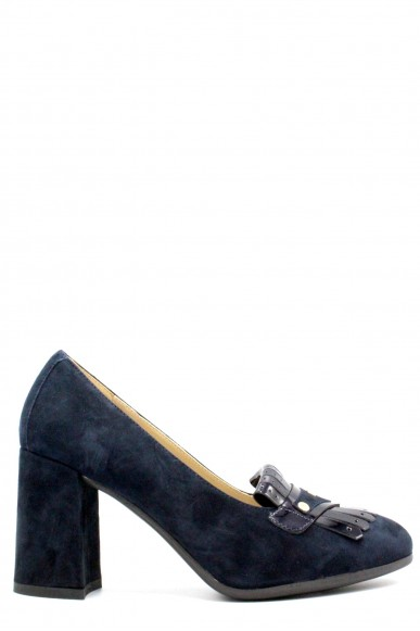 Nero giardini Decollete F.gomma Capra scam.nero odeon pearl.7993 ne Donna Blu Fashion