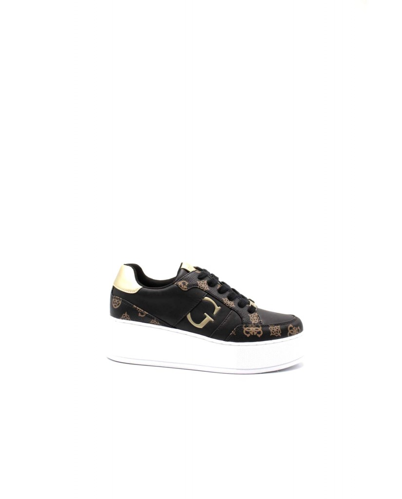 Guess Sneakers F.gomma Neiman/active lady/leather lik Donna Nero Fashion