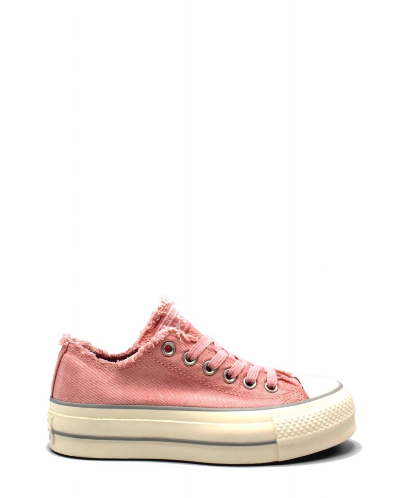 Converse Sneakers F.gomma 35/40 Donna Fiori Sportivo